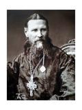 Saint John of Kronstadt, Russian Priest, C1900 Giclee Print