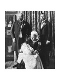 The Future King Edward VIII's Christening Day, 16 July 1894 Giclee Print