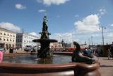 Havis Amanda Fountain, Helsinki, Finland, 2011 Reprodukcja zdjęcia autor Sheldon Marshall