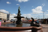 Havis Amanda Fountain, Helsinki, Finland, 2011 Photographic Print by Sheldon Marshall