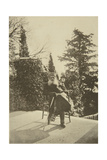 Russian Author Leo Tolstoy, Gaspra, Crimea, Russia, 1902 Giclee Print by Sophia Tolstaya