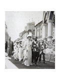 Tsar's Family at the Celebrations of the 300th Anniversary of the House of Romanov, Russia, 1913 Giclee Print