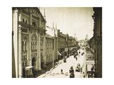 The Synod Printing House, Nikolskaya Street, Moscow, Russia, 1912 Giclee Print