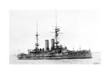 HMS Bulwark, British Battleship, C1899-1914 Giclee Print