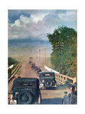 The Road to the German Offensive, Russia, 1942 Giclee Print