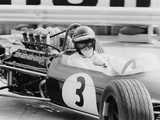 Jochen Rindt, Monaco Grand Prix, 1968 Fotodruck