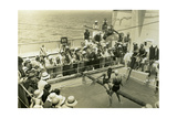 Swimming Pool on Board the Rml 'Atlantis, C1929-C1939 Giclee Print