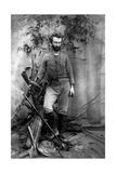 Nikolai Nikolaevich Miklukho-Maklai, Russian Anthropologist, Queensland, Australia, C1880 Giclee Print
