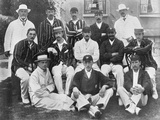 The England Test Cricket XI at Lord's, London, 1899 Photographic Print by  Hawkins & Co