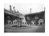 The Cloisters, Newstead Abbey, Nottinghamshire, 1924-1926 Giclee Print by  Valentine & Sons