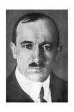 Edvard Benes, Second President of Czechoslovakia, 1926 Giclee Print