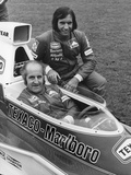 Denny Hulme and Emerson Fittipaldi, 1974 Photographic Print