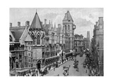 The Royal Courts of Justice, Strand, Westminster, London, 1904 Giclee Print
