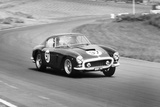 Mike Parkes Driving a Ferrari, Brands Hatch, Kent, 1961 Photographic Print