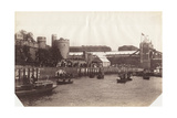 View of Part of Tower Bridge from the River Thames, London, 1894 Photographic Print