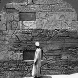 Great War Reliefs Sculptured in the Wall at Karnak Temple, Thebes, Egypt, 1905 Photographic Print by  Underwood & Underwood