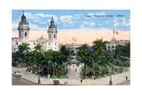 Plaza De Armas, Lima, Peru, Early 20th Century Giclee Print