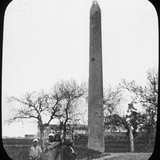 Obelisk, Heliopolis, Egypt, C1890 Photographic Print by  Newton & Co