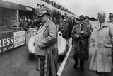 Alfred Neubauer, Mercedes Team Manager, 1954 Photographic Print