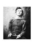Lewis Powell, Member of the Lincoln Assassination Plot, 1865 Reproduction procédé giclée par Alexander Gardner