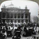 Grand Opera House, Paris, C1900s Photographic Print by  Underwood & Underwood