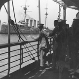 British Troops on a Troopship, World War I, C1914 Photographic Print