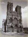 Cathedral of Notre-Dame, Reims, France, Late 19th or Early 20th Century Photographic Print