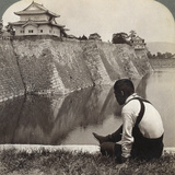Feudal Castle of the Proud Shoguns, Osaka, Japan, 1904 Photographic Print