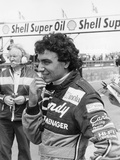 Michele Alboreto, 1981 Fotografisk tryk