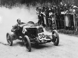 Zborowski Driving a 1922 Aston Martin 1.5 Litre 'Strasbourg' at Shelsey Walsh, (1922) Papier Photo