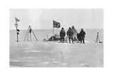 The Shackleton Camp, Antarctica, Christmas Day, 1908 Giclee Print