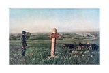 The Frontier Between Lithuania and the Soviet Union, World War II, 1942 Giclee Print