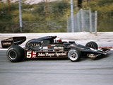 Mario Andretti Racing a Jps Lotus-Cosworth 78, Spanish Grand Prix, Jarama, Spain, 1977 Photographic Print
