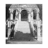 Giants' Staircase, Doge's Palace, Venice, Italy, Late 19th or Early 20th Century Giclee Print