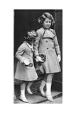 Princess Elizabeth and Her Sister, C1936 Giclee Print
