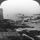 Stores at Sedd El Bahr, Gallipoli, Turkey, World War I, 1915 Photographic Print