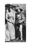 Prince George and Mary of Teck in Fancy Dress, Devonshire House Ball, 1897 Giclee Print