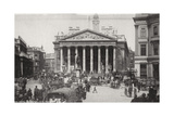 The Royal Exchange, London, Late 19th or Early 20th Century Giclee Print