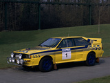 1985 Audi Quattro A2 Car Photographic Print