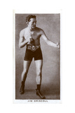 Jim Driscoll, Welsh Boxer Giclee Print