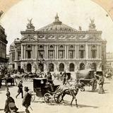 Grand Opera House, Paris, Late 19th Century Photographic Print
