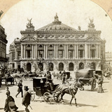 Grand Opera House, Paris, Late 19th Century Photographic Print by  Griffith and Griffith
