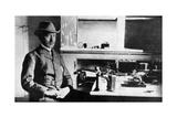 Guglielmo Marconi, Italian Pioneer of Wireless Telegraphy, Signal Hall, Newfoundland, 1901 Giclee Print