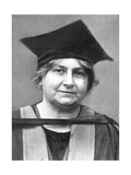 Dr Maria Montessori (1870-195), Italian Philosopher, 1926 Giclee Print