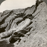 British and German Dead Near the Hohenzollern Redoubt, Lens, France, World War I, 1914-1918 Photographic Print