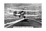 Fairey III F Reconnaissance Plane Taking of from the Aircraft Carrier HMS Courageous, 1937 Giclee Print