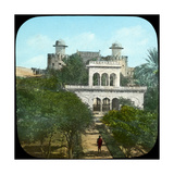 Marble Pavilion in the Fort Gardens, Lahore, India, Late 19th or Early 20th Century Giclee Print
