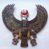 Pectoral Jewel from the Treasure of Tutankhamun, Ancient Egyptian, C1325 Bc Photographic Print