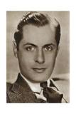 Robert Montgomery, American Actor and Director, 1933 Giclée-Druck