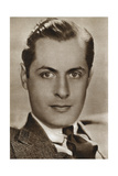 Robert Montgomery, American Actor and Director, 1933 Giclee Print